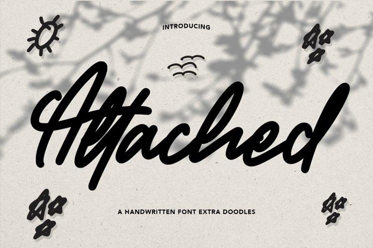 Web Font Attacher - Handwritten Font example image 1