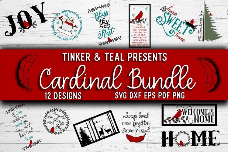 Cardinal SVG Bundle example image 1