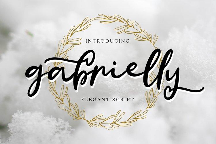 Gabrielly - Elegant Script Font
