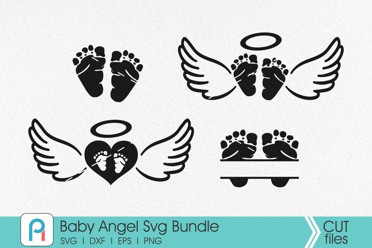 Baby Angel Svg Bundle - baby memorial vector files