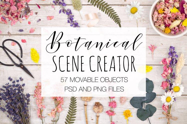 Botanical Scene Creator - Top View example image 1