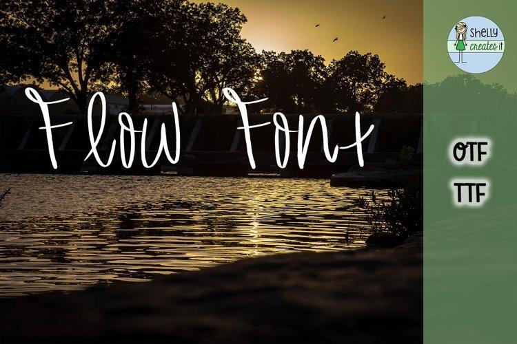 SCI_Flow Font