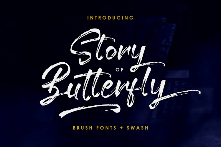 Story Of Butterfly Brush example image 1