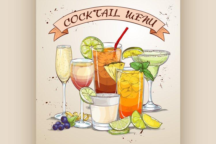 New Era Drinks Coctail menu example image 1