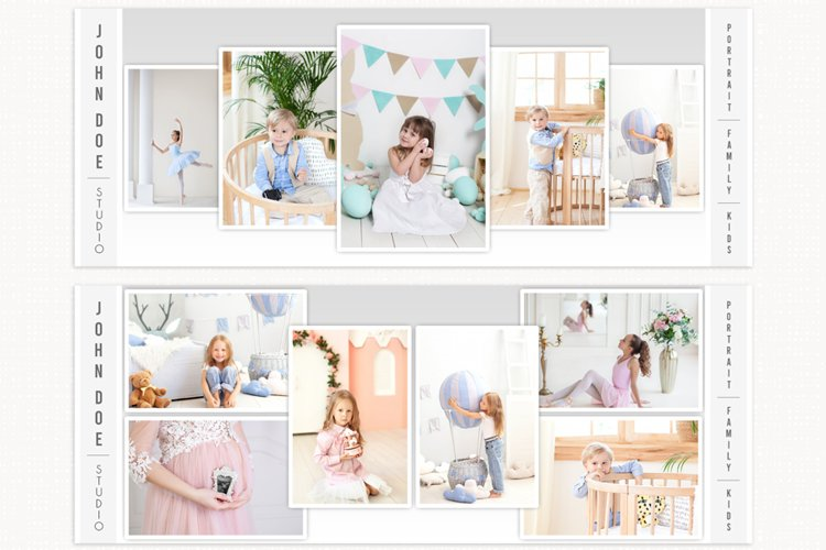 Facebook Cover Template Photography, Collage Facebook Cover example image 1