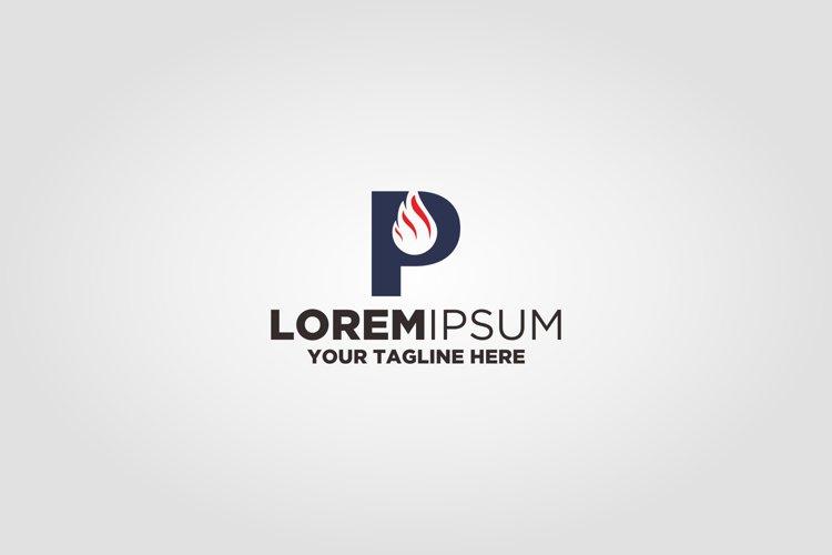 Letter P Oil logo example image 1