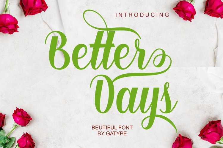 Better Days Scrip example image 1