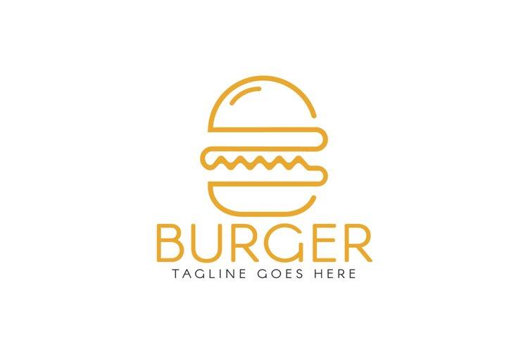 Burger Logo Design. example image 1