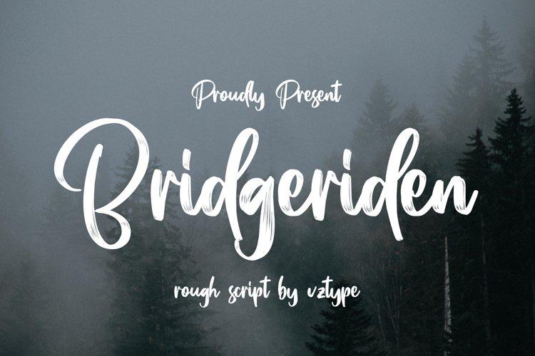 Bridgeriden example image 1