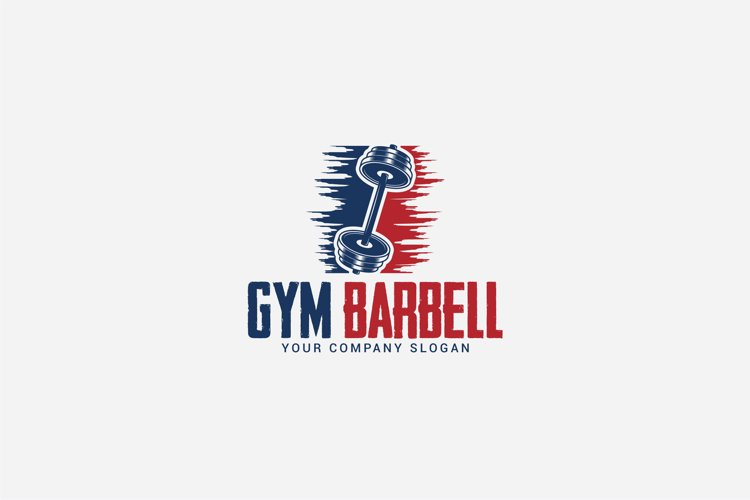 gym barbell logo example image 1
