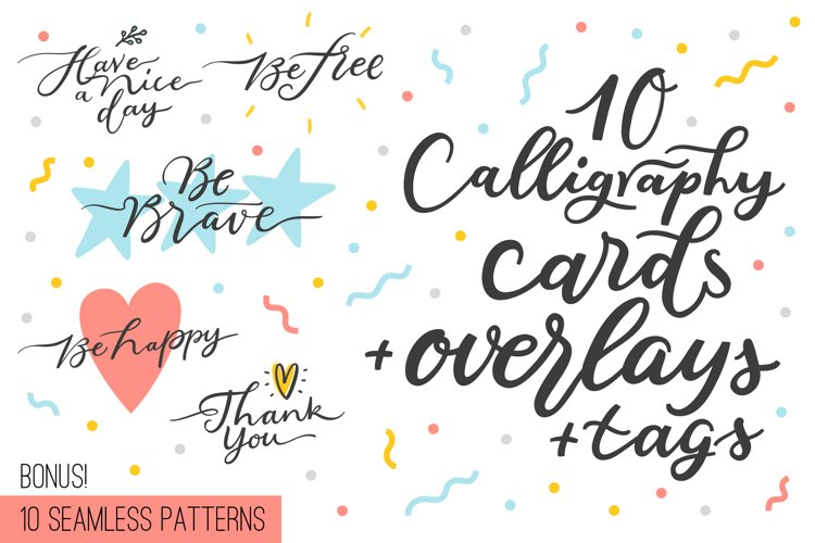 10 overlays, cards and tags example image 1