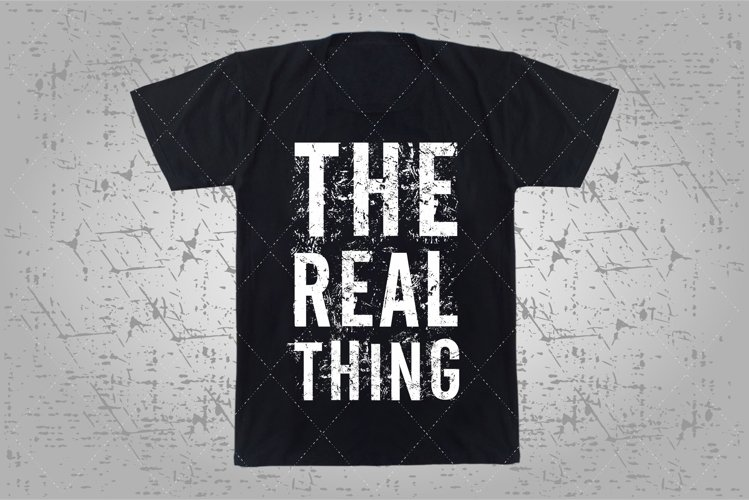 the real thing example image 1