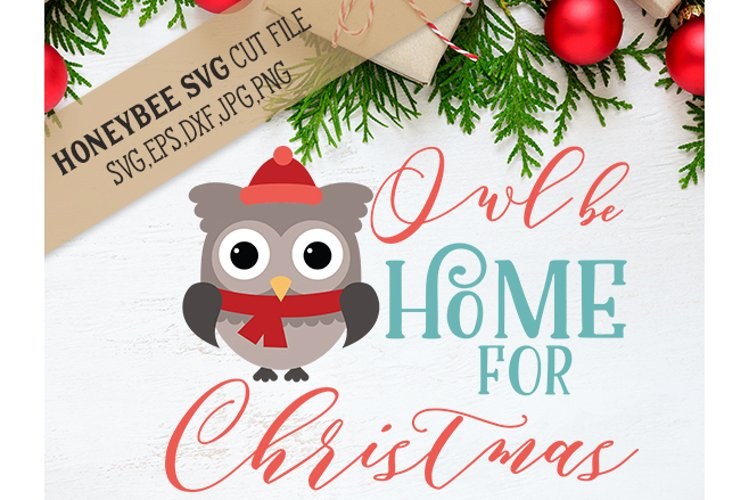 Owl Be Home For Christmas example image 1
