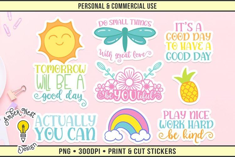 Inspire Sticker Set Vol 1