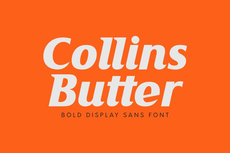 Collins Butter example image 1