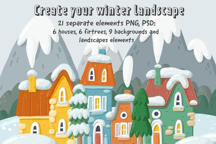 21 images for winter landscapes