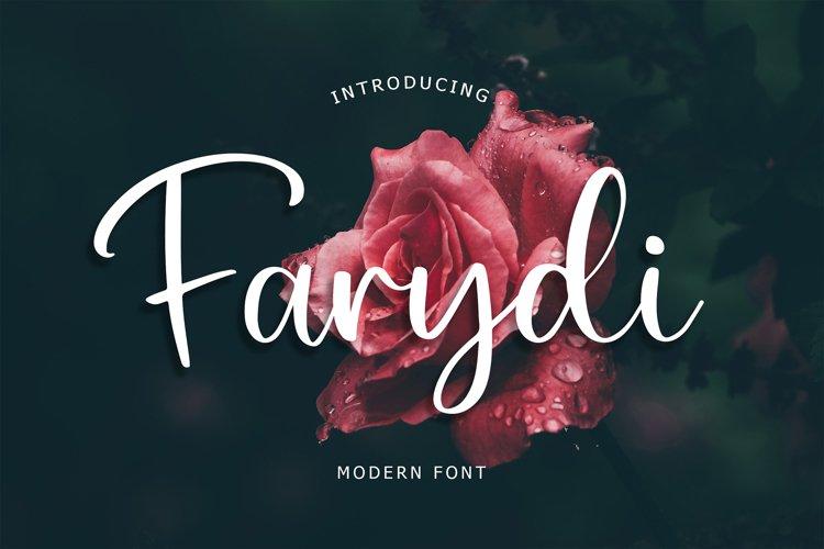 Farydi Modern Font example image 1
