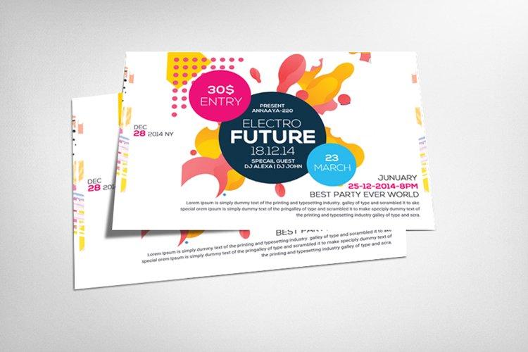 Futurestic A4 Flyer Design example image 1