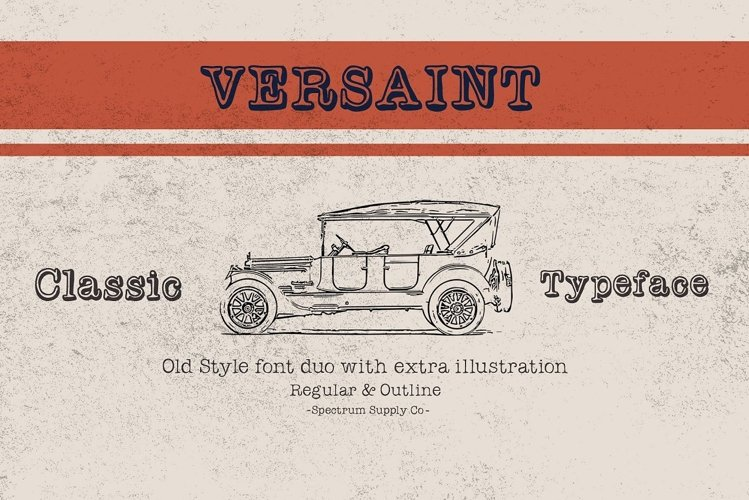 Versaint Font Duo With Extras example image 1