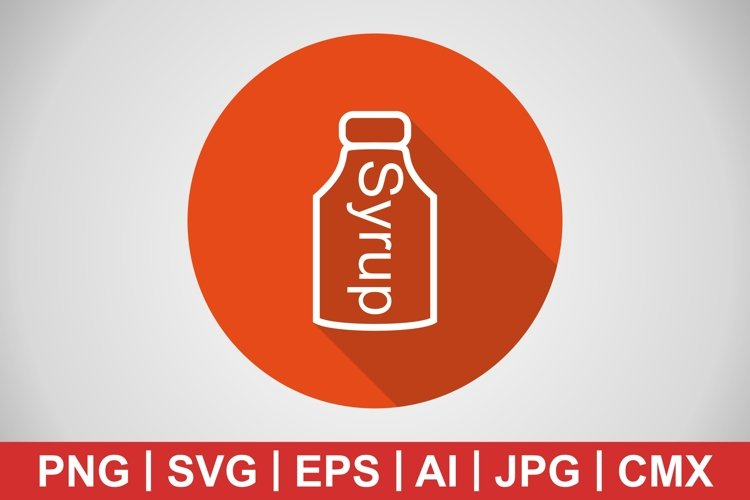 Vector Syrup Icon example image 1