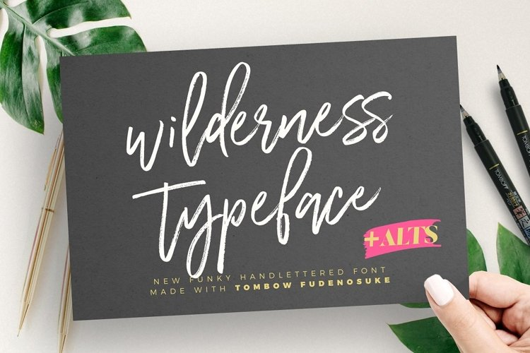 Wilderness Typeface
