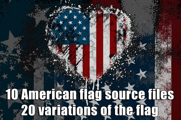 American Flag Bundle example image 1
