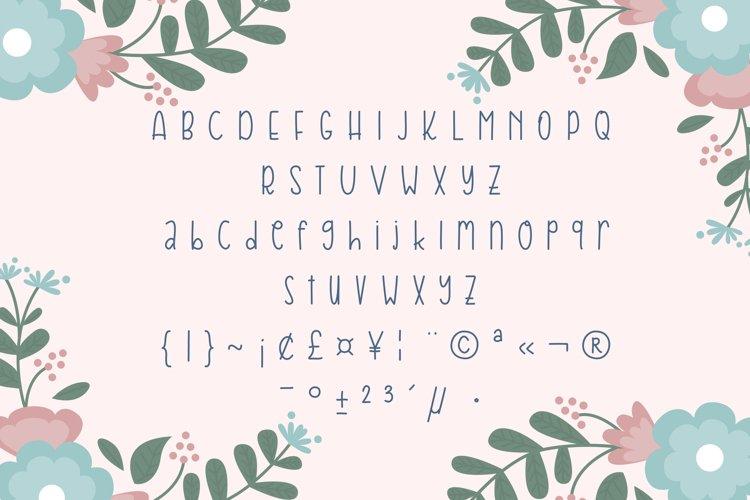 Kamilah Font example 1
