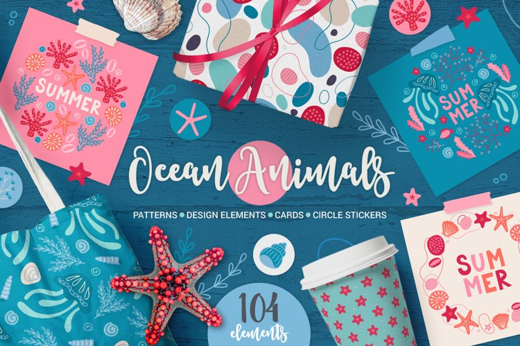 Ocean Animals Kit