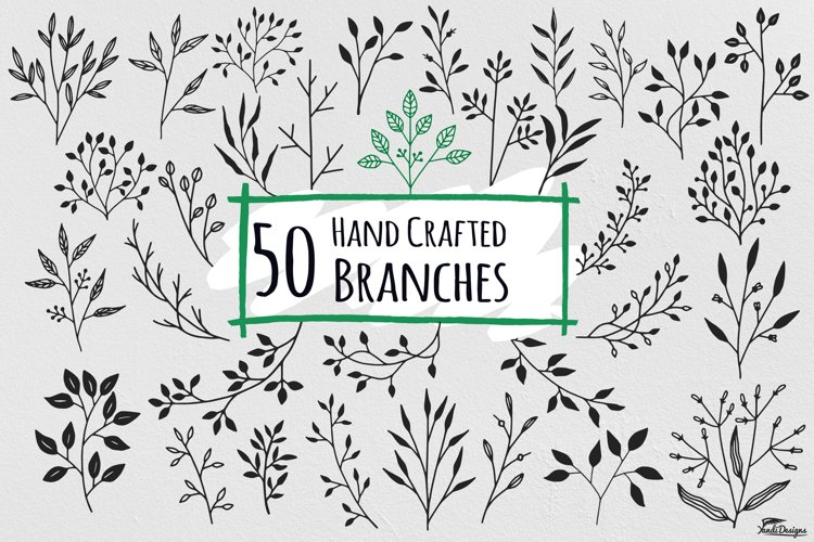 Hand Crafted Branches Floral example image 1