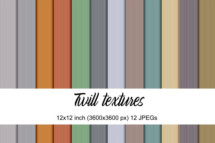 Twill textures