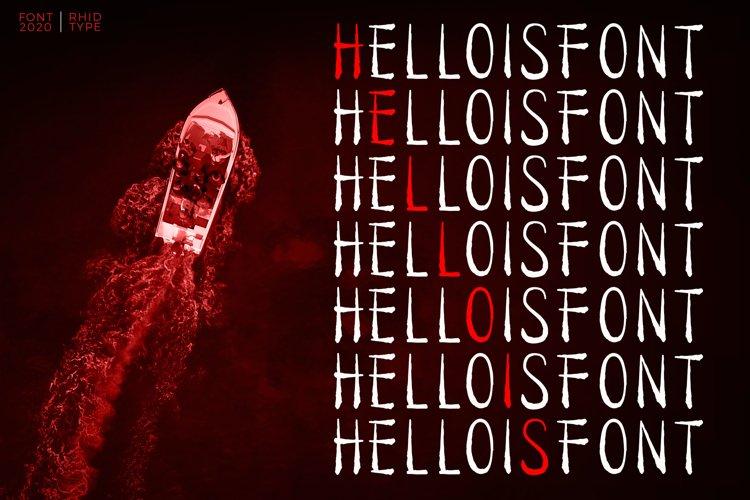 HELLOISFONT example image 1