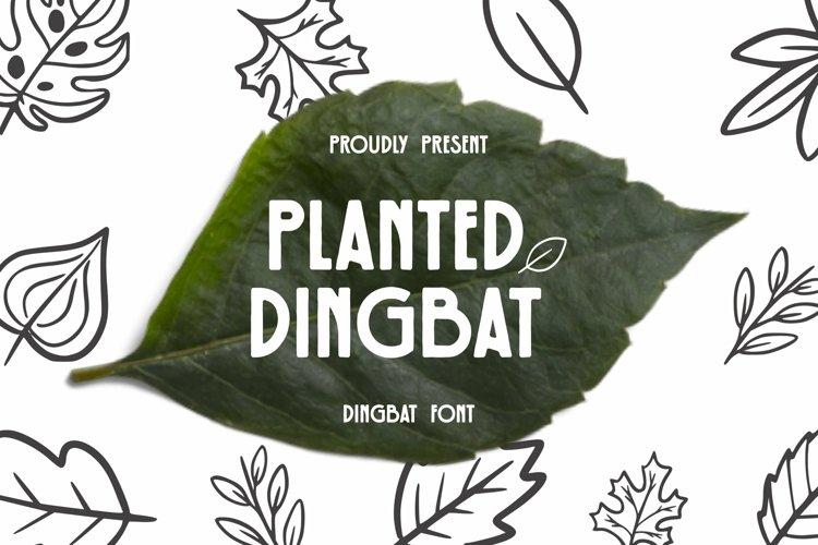 Web Font Planted Dingbat example image 1