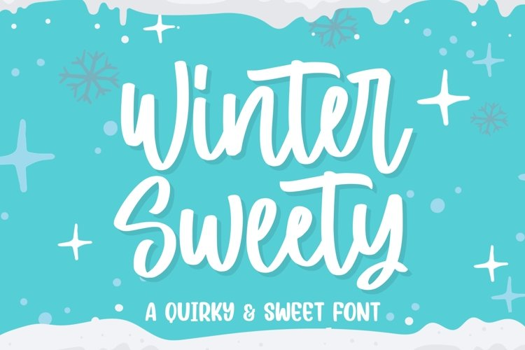 Winter Sweety example image 1
