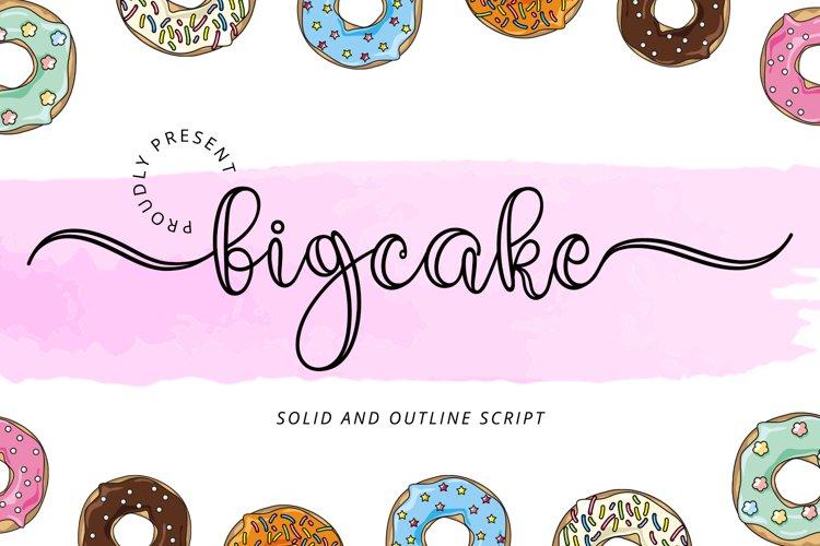 Bigcake example image 1