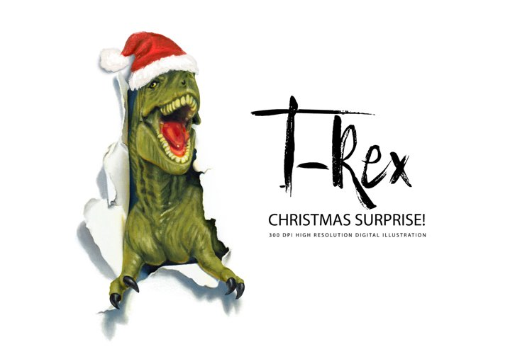 T-Rex Christmas Surprise