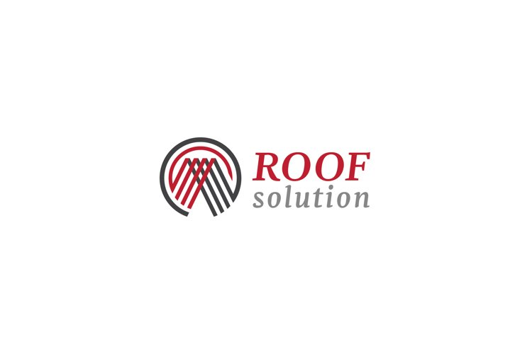 Roof Solution - Logo Template