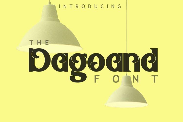 Dagoand Font example image 1
