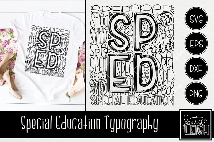 Special Education Typography example image 1