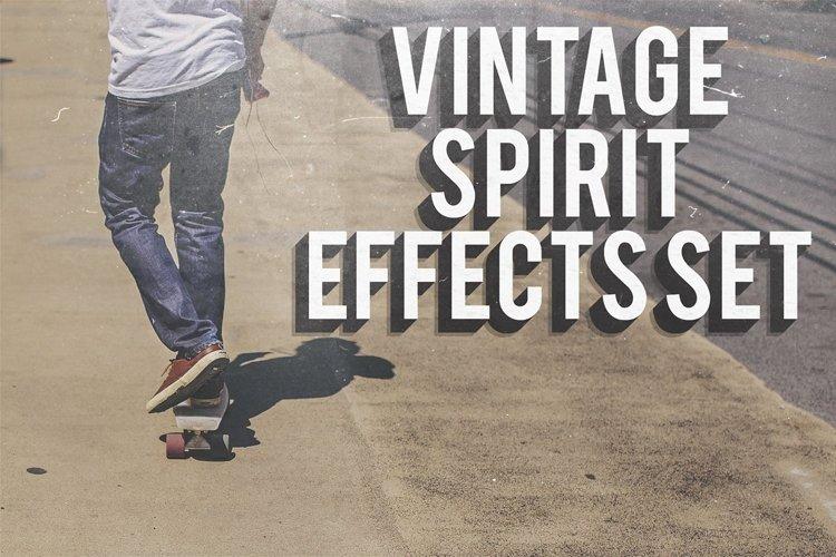 Vintage Spirit Effects Set example image 1