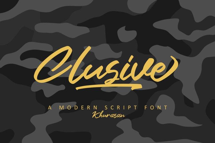 Clusive Signature example image 1