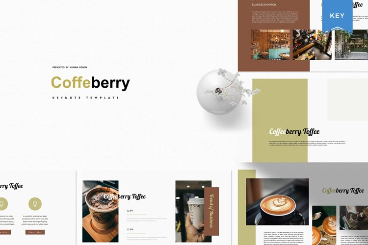 Coffeberry | Keynote Template example image 1