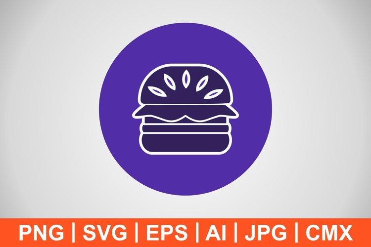 Vector Hamburger Icon example image 1