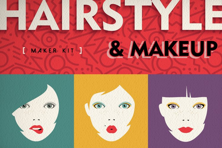 Hairstyle & Makeup Maker Kit + Extras example image 1