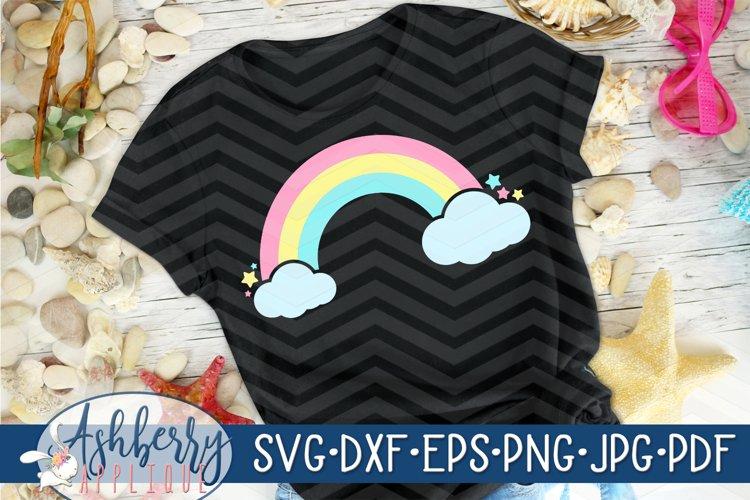 Star Rainbow SVG/DXF Cut File