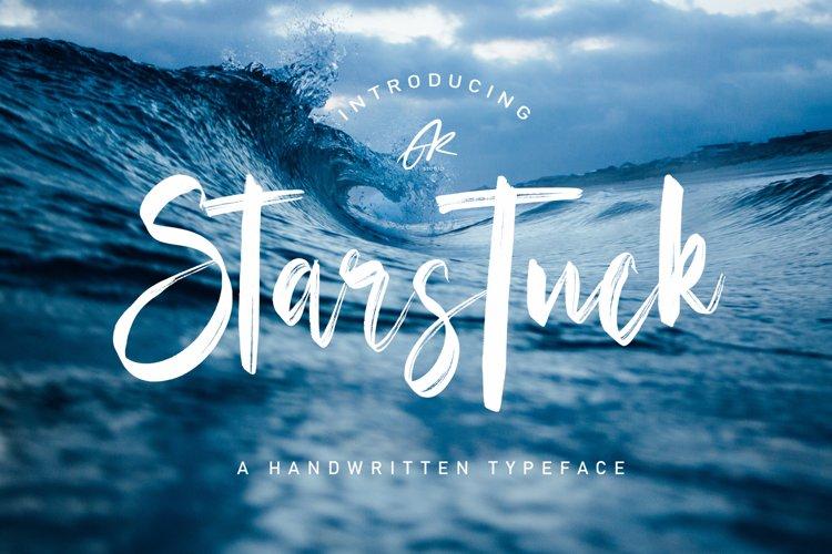 Starstuck Handwritten Font