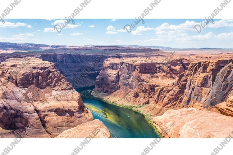 Horse Bend Shoe and Colorado River Canyon example image 1