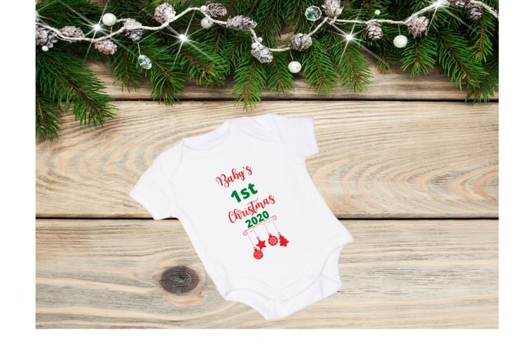 Baby's First Christmas example image 1