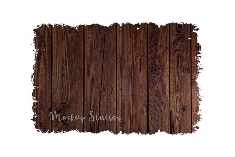 Wood Sublimation Background PNG Bundle, Frame Clip Art Splat - Free Design of The Week Design4