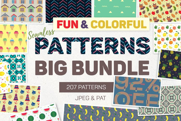 Fun & Colorful Patterns Bundle