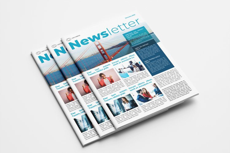 Business Newsletter Template example image 1